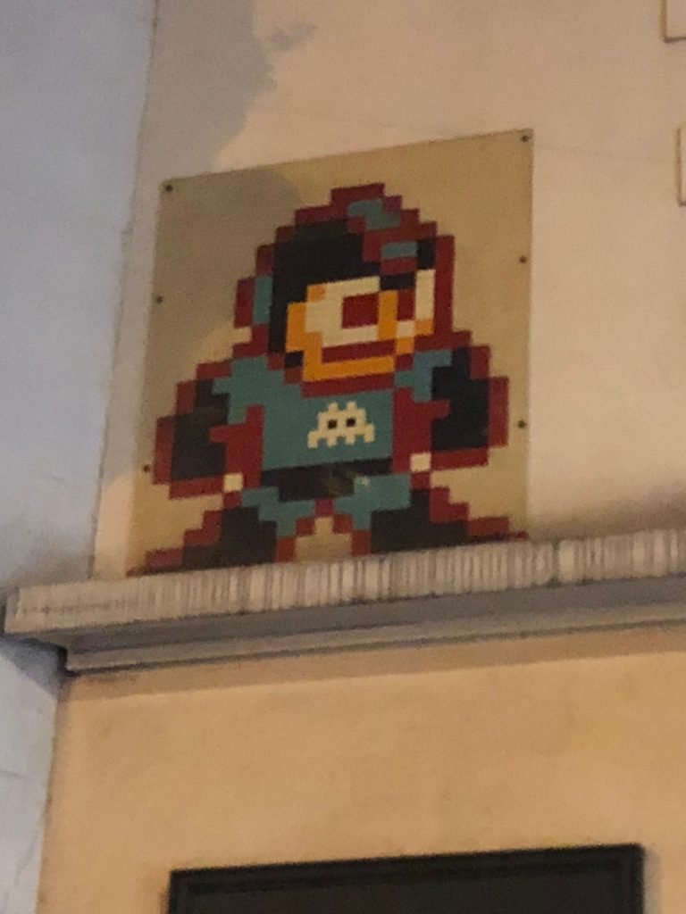 Space Invader PA 1075 Paris